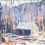 Gelée blanche, 1974 – Paul BRIEN [1913 – 1990]