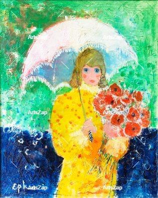 L'ombrelle, Circa 2000 – Willering, EPKO [1928]